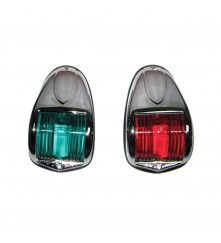 Navigation Light (Red & Green Pair) - (1264-DP-CHR)