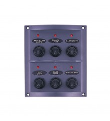 6 Gang Switch Panel - With LED Indicators