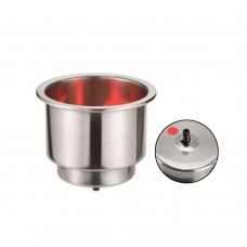 Red LED Drink / Can Holder