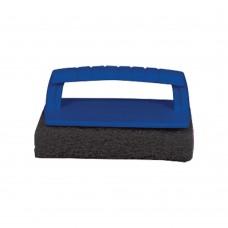 Scrub Pad with Handle (Coarse) Black - 040131