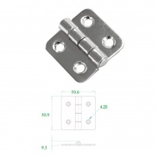 Stainless Steel Hinge 304 Model No: 52558