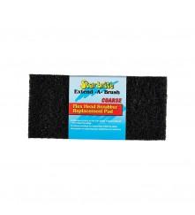 Flexible Head Scrubber Replacement (Coarse) Black - 040127