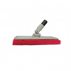 Flexible Head Scrubber with Large Red Pad - 040124