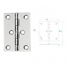 Stainless Steel Hinge 304 Model No: 52598