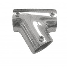 Tee S.S., AISI 316 - 60 Degree  (Right)