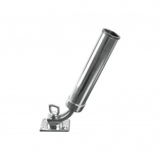 Stainless Steel Rod Holder (Adjustable Base)