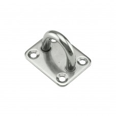 Eye Plate Without Ring, AISI 316
