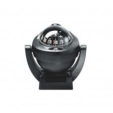 Offshore Compass 75, Bracket Mount Horizontal or Vertical Surface - Black Color