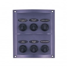 6 Gang Switch Panel Model: 10064