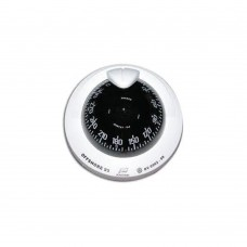 Offshore Compass 95, Flush Mount Type, Black Flat Card - White Color