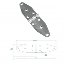 Stainless Steel Hinge 304 Model No: 52585