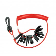 11 Kill Switch Keys - With Lanyard
