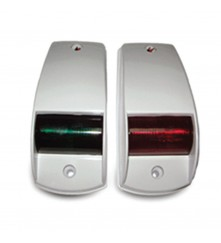 Navigation Side Light Red & Green Pair - (00194-WH)