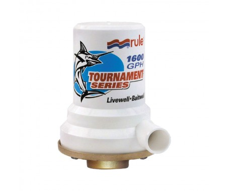 Tournament Series - Bronze Base 1600 GPH Livewell Pump