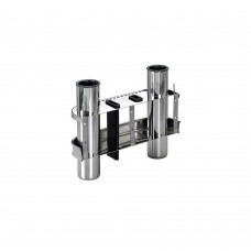 Stainless Steel Rod Holder - 2 Rods