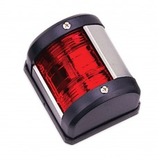 Red Port Navigation Light - Boats up to 12m - (00121-BK)