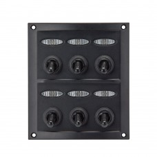 6 Gang Switch Panel Model: 10064-D