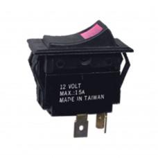 Illuminated Rocker Switch - 3 Pin
