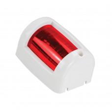 Small Red Port Light (WHITE)