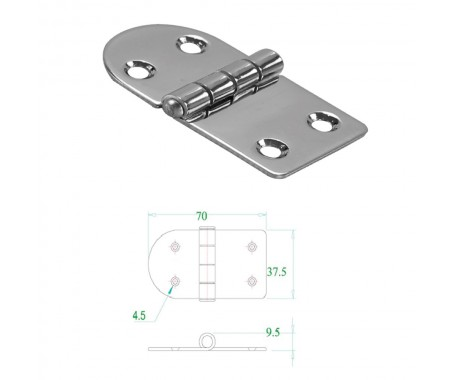 Stainless Steel Hinge 304
