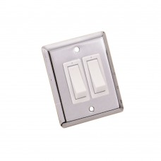 Stainless Steel Wall Switch - 2 Way