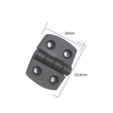 Black Plastic Hinge