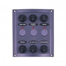 6 Gang Switch Panel - With LED Indicators Model: 10164-LT