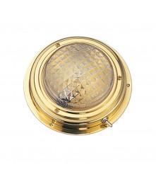 "DOME LIGHT BRASS 5"" (SM) - 00551-BL"