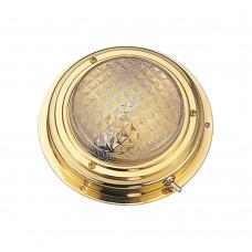 "Brass Dome Light 5"" - Surface Mount"