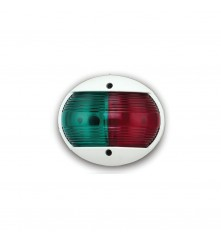 Red & Green Combination Bow Light - Vertical Mount