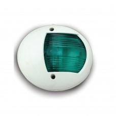 LED Green Starboard Light - Vertical Mount