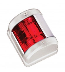 Red Port Navigation Light - Boats up to 12m - (00121-WH)