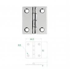 Stainless Steel Hinge 304 Model No: 52596