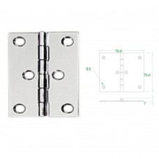Stainless Steel Hinge 304 Model No: 52599
