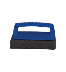 Scrub Pad with Handle (Coarse) Black