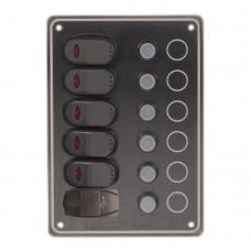 5 Switches - 1USB Port Switch Panel