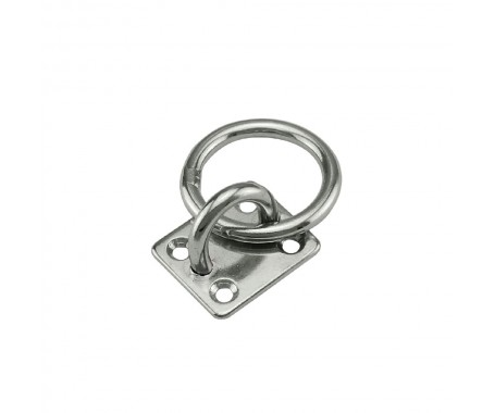 Eye Plastic with Ring, AISI 316