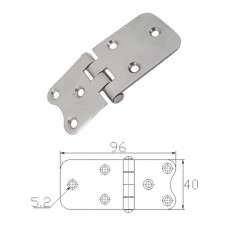 Stainless Steel Hinge 304 Model No: 52586