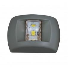 LED NAVIGATION LIGHT BLACK HOUSING FOR BOATS UP TO 12M ( WHITE MASTHEAD LIGHT)