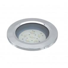 """High Power Blue LED Dome Light 4"""" - Flush Mount"""
