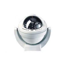 Offshore Compass 95, Bracket Mount Type, Black Flat Card - White Color