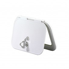 Access Hatch, Non-Locking Latch - 180° Opening  Model: 13701-WH