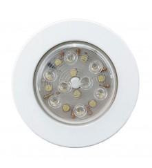 LED Push - ON / OFF Light (FM) - (00166-WH)