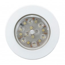 LED Push - ON / OFF Light (FM) - (00166-WH)