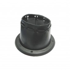 Black Cable Boot - 4.5""