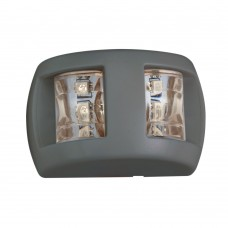 LED NAVIGATION LIGHT BLACK HOUSING FOR BOATS UP TO 12M ( COMBO BOW LIGHT)