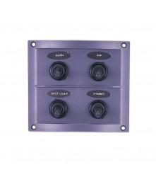 4 Gang Switch Panel Model: 10044