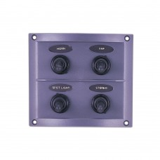 4 Gang Switch Panel Model: 10044