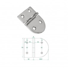 Stainless Steel Heavy Duty Hinge 316 Model No: 81003-01