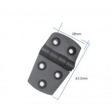 Black Plastic Hinge Model: 52530-BK